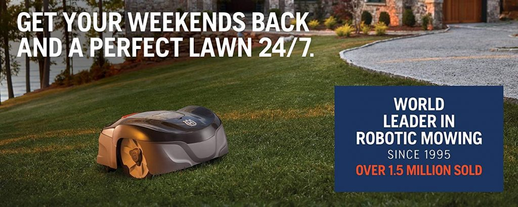 what is the best rated auto lawn mower robot?