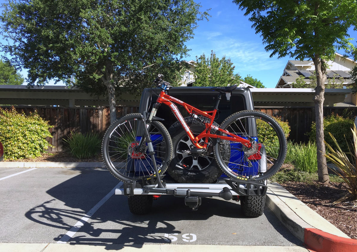 RockyMounts Monorail & My 2-Year Search for The Best Bicycle Rack for My Jeep