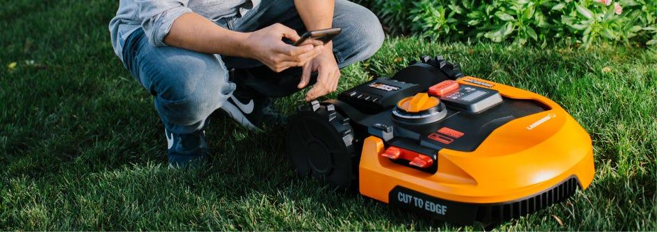 Worx Landroid Robotic Lawn Mowers